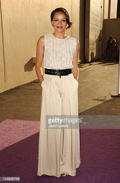 Actress Carmen Ejogo attends Disney Media Networks International Upfronts at Walt Disney Studios on May 20 2012 in Burbank California