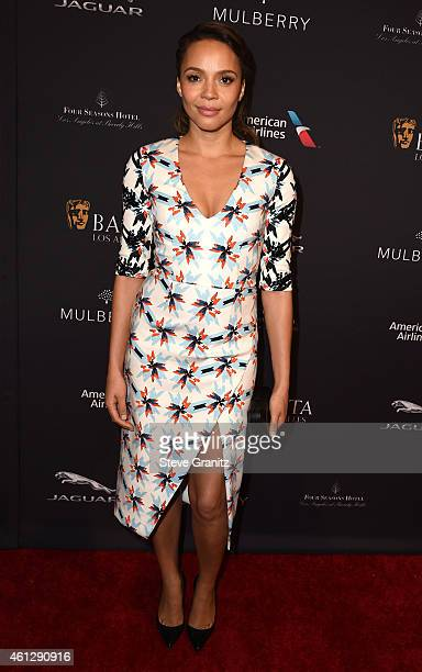 Actress Carmen Ejogo attends the 2015 BAFTA Tea Party at The Four Seasons Hotel on January 10 2015 in Beverly Hills California