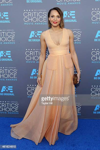Actress Carmen Ejogo attends the 20th annual Critics' Choice Movie Awards at the Hollywood Palladium on January 15 2015 in Los Angeles California