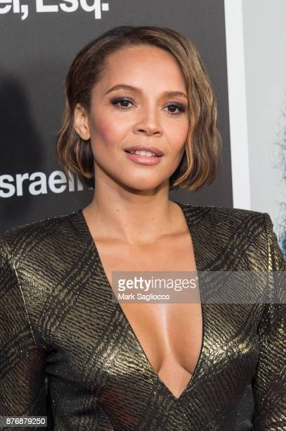 Actress Carmen Ejogo attends the Roman J Israel Esquire New York Premiere at Henry R Luce Auditorium at Brookfield Place on November 20 2017 in New...