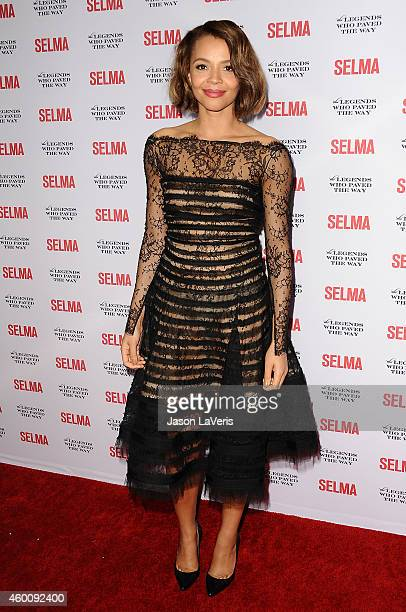 Actress Carmen Ejogo attends the Selma and the Legends Who Paved the Way gala at Bacara Resort on December 6 2014 in Goleta California