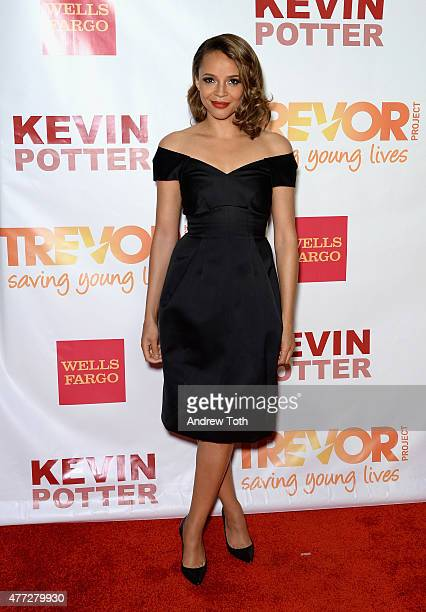 Actress Carmen Ejogo attends TrevorLIVE New York 2015 at Marriott Marquis Hotel on June 15 2015 in New York City