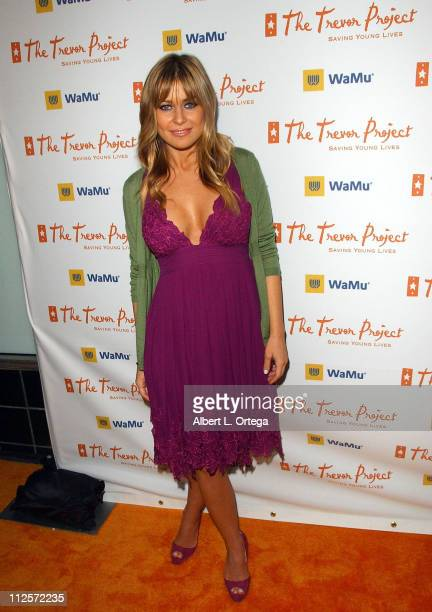 Actress Carmen Electra arrives at Cracked Xmas 10 to benefit The Trevor Project at Wiltern Theater on December 2 2007 in Los Angeles California