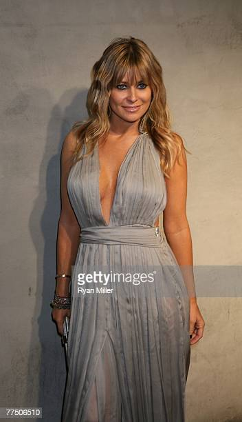 Actress Carmen Electra arrives at the launch party for Dr Robert Rey's Shapewear hosted by Carmen Electra and Denise Richards held at Hollywood hot...