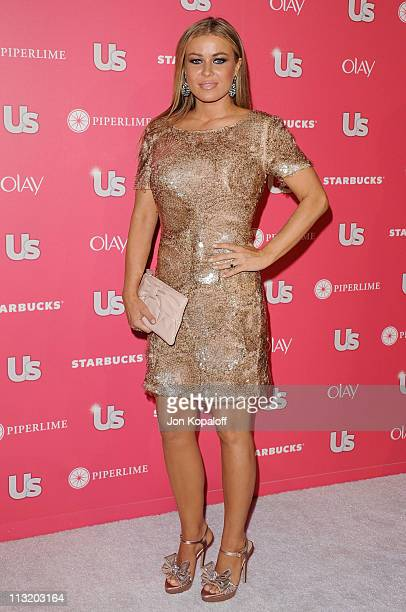 Actress Carmen Electra arrives at Us Weekly's 2011 Hot Hollywood Party at Eden on April 26, 2011 in Hollywood, California.