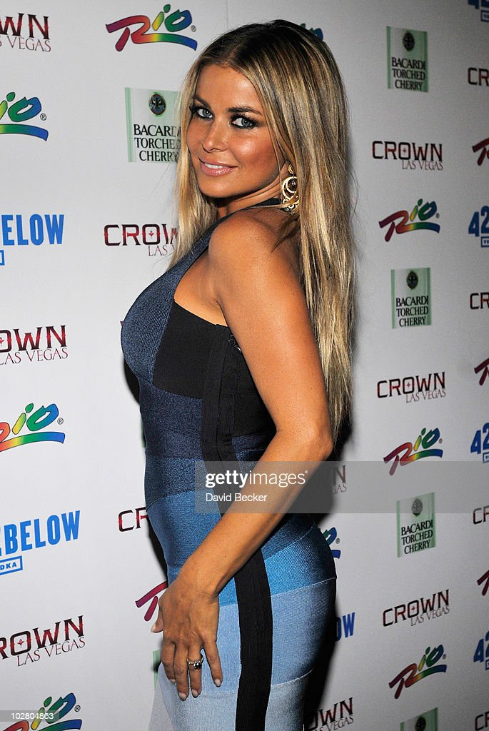Carmen Electra Hosts At The Crown Theater Nightclub At The Rio