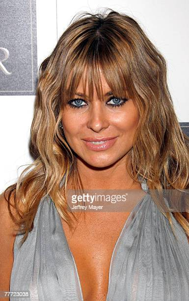 Actress Carmen Electra arrives to the Dr Rey's Shapewear Instant Shape launch party at Opera on October 25 2007 in Hollywood California