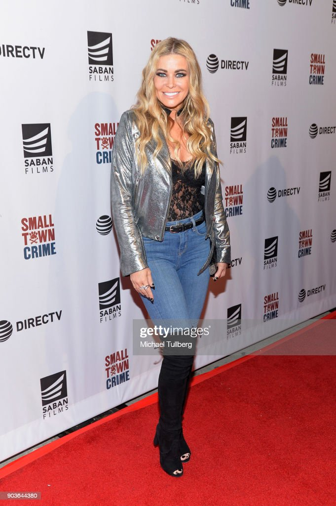 "Special Screening Of ""Small Town Crime"" - Arrivals"