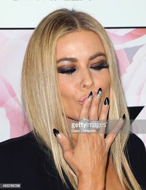 Actress Carmen Electra attends Marco Marco's presentation of his Spring/Summer 2016 Collection 4 at The Reef on October 18 2015 in Los Angeles...