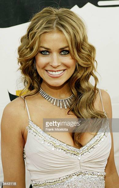 Actress Carmen Electra attends the 7th Annual VH1 Divas Concert Benefiting The Save The Music Foundation at the MGM Grand Garden Arena April 18 2004...