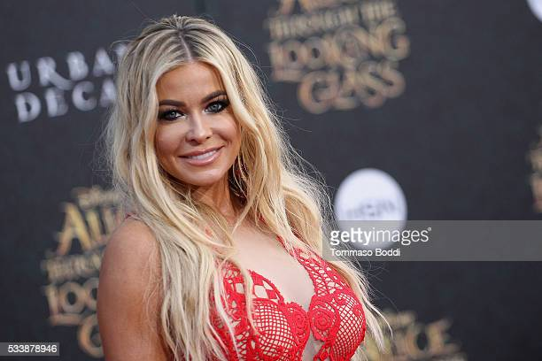 "Actress Carmen Electra attends the premiere of Disney's ""Alice Through The Looking Glass"" at the El Capitan Theatre on May 23, 2016 in Hollywood,..."