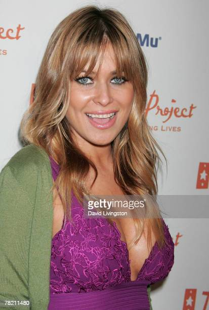 Actress Carmen Electra attends the Trevor Project's 10th annual Cracked Xmas gala at the Wiltern Theatre December 2 2007 in Los Angeles California
