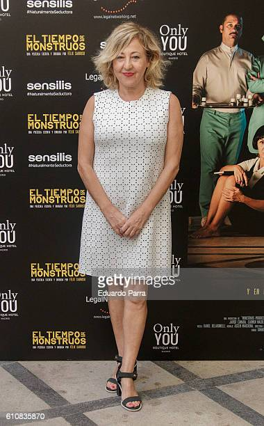 Actress Carmen Machi attends the 'El tiempo de los monstruos' photocall at Only You hotel on September 28 2016 in Madrid Spain
