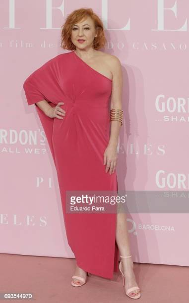 Actress Carmen Machi attends the 'Pieles' premiere at Capitol cinema on June 7 2017 in Madrid Spain