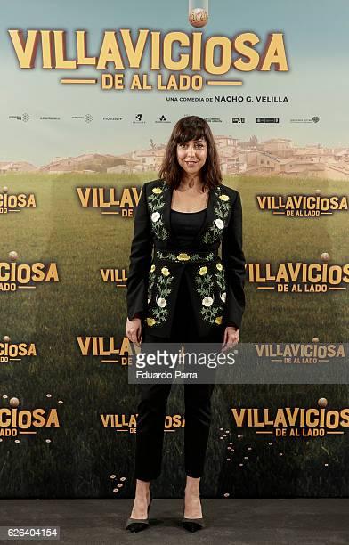 Actress Carmen Ruiz attends the 'Villaviciosa de Al Lado' photocall at Palacio de los Duques hotel on November 29 2016 in Madrid Spain