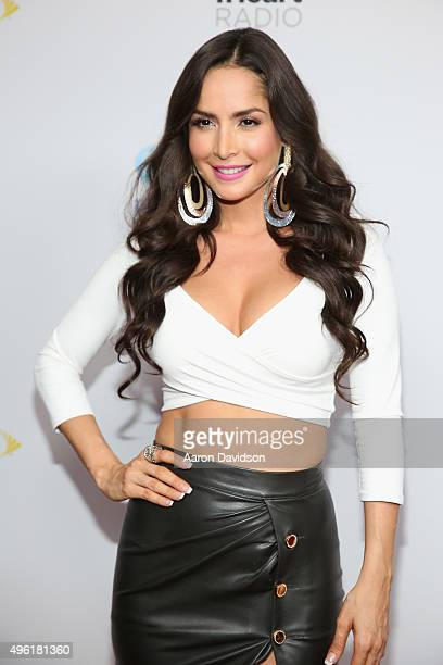 Actress Carmen Villalobos attends iHeartRadio Fiesta Latina presented by Sprint at American Airlines Arena on November 7 2015 in Miami Florida
