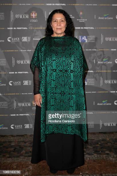 Actress Carmina Martinez attends Noir In Festival on December 6 2018 in Como Italy