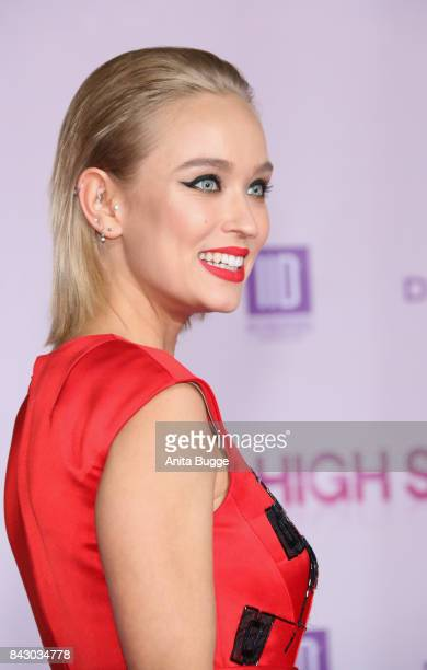 Actress Caro Cult attends the 'High Society' Germany premiere at CineStar on September 5 2017 in Berlin Germany