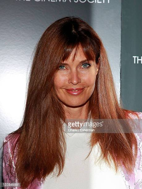 Actress Carol Alt attends a screening of The Twilight Saga Eclipse hosted by The Cinema Society and Piaget at the Crosby Street Hotel on June 28 2010...