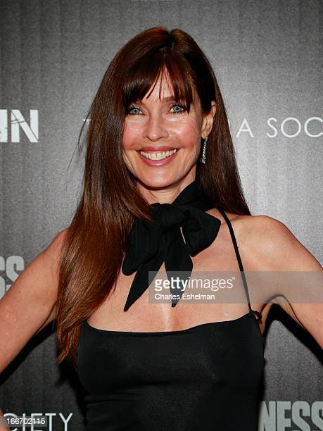 Actress Carol Alt attends The Cinema Society and Men's Fitness screening of Pain and Gain at the Crosby Street Hotel on April 15 2013 in New York City