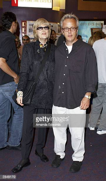 Actress Carol Androsky and writer Dana Olsen attend the LA Premiere of Shrink Rap at Laemmle's Monica 4 Plex on July 30 2003 in Santa Monica...