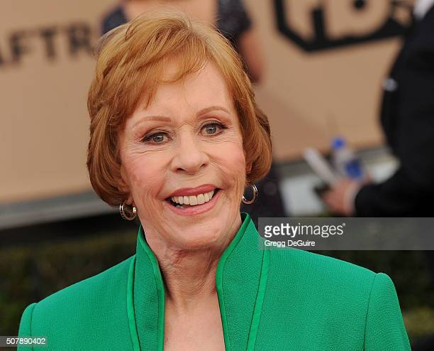 Actress Carol Burnett arrives at the 22nd Annual Screen Actors Guild Awards at The Shrine Auditorium on January 30 2016 in Los Angeles California