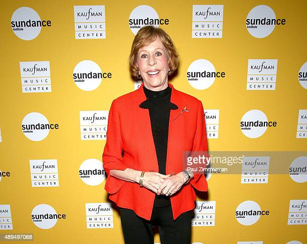 Actress Carol Burnett attends Carol Burnett's play Hollywood Arms back onstage after 15 years at Kaufman Music Center's Merkin Concert Hall on...