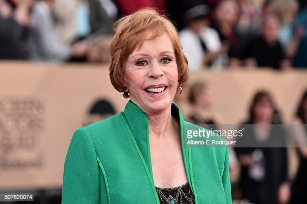 Actress Carol Burnett attends the 22nd Annual Screen Actors Guild Awards at The Shrine Auditorium on January 30 2016 in Los Angeles California