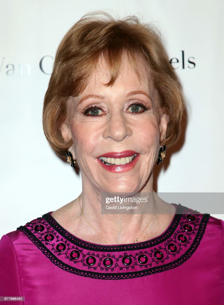 Actress Carol Burnett attends the Colleagues and Oscar De La Renta's Annual Spring Luncheon at the Beverly Wilshire Four Seasons Hotel on May 3, 2017 in Beverly Hills, California.