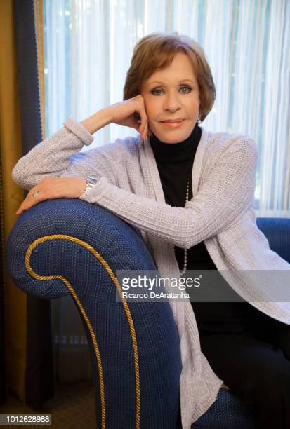 Actress Carol Burnett is photographed for Los Angeles Times on January 7 2016 in Pasadena California PUBLISHED IMAGE CREDIT MUST READ Ricardo...