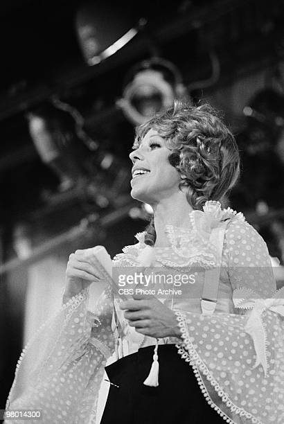 Actress Carol Burnett performs in a scene from 'The Carol Burnett Show' which was filmed on February 19 1971 in Los Angeles California