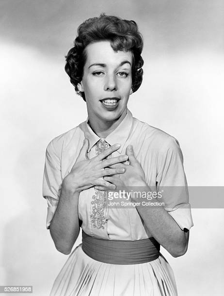 Actress Carol Burnett