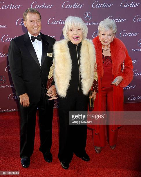 Actress Carol Channing arrives at the 26th Annual Palm Springs International Film Festival Awards Gala Presented By Cartier at Palm Springs...