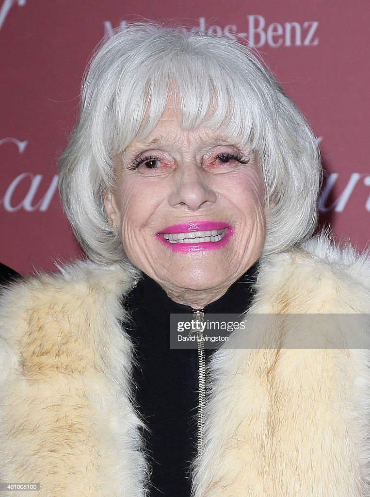 Actress Carol Channing attends the 26th Annual Palm Springs International Film Festival Awards Gala at the Palm Springs Convention Center on January 3, 2015 in Palm Springs, California.