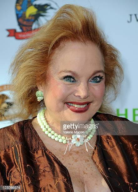 Actress Carol Connors arrives at the 10th Anniversary LA Police Protective League's Eagle Badge Foundation Gala on August 30 2011 in Los Angeles...