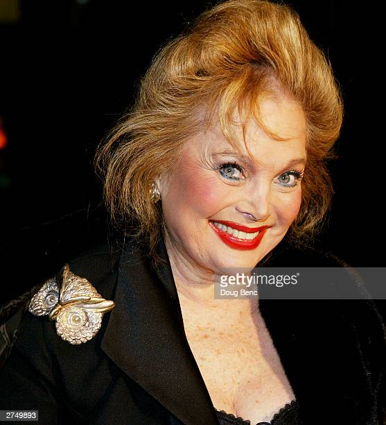 Actress Carol Connors attends the premier of In America at the Academy of Motion Picture Arts and Sciences on November 20 2003 in Beverly Hills...