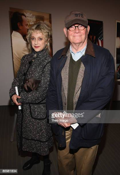 Actress Carol Kane and actor Buck Henry attend MoMA's Mike Nichols retrospective opening night screening of Carnal Knowledge at the Museum of Modern...