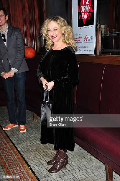 Actress Carol Kane attends the 25th Anniversary benefit reading of 'The Normal Heart' at Walter Kerr Theatre on October 18 2010 in New York City