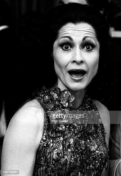 Actress Carol Lawrence attends Fourth Annual Variety Club Telethon on May 14 1977 at KTTV Studios in Los Angeles California