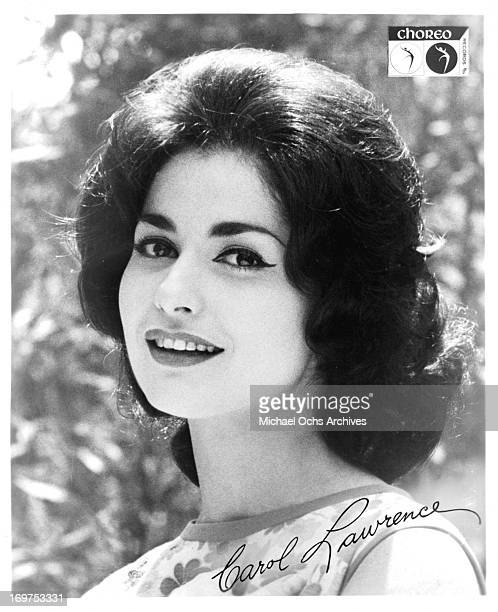 Actress Carol Lawrence poses for a portrait in circa 1967