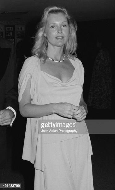 Actress Carol Lynley attends the Filmex black tie ball at the Century City Hotel after the movie premiere of 'FIST' on April 13 1978 in Los Angeles...