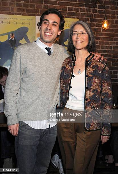 Actress Carol Potter and coproducer Benjamin Weber attend the New York premiere of Guest Of Cindy Sherman at Tailor March 24 2009 in New York City