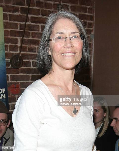 Actress Carol Potter attends the New York premiere of Guest Of Cindy Sherman at Tailor on March 24 2009 in New York City