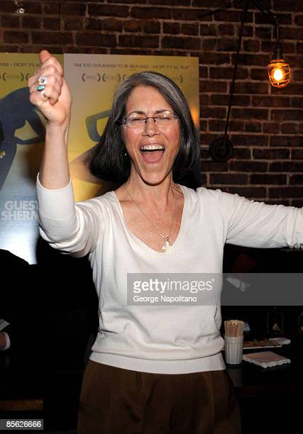 Actress Carol Potter attends the New York premiere of Guest Of Cindy Sherman at Tailor March 24 2009 in New York City