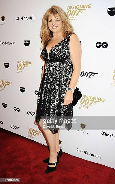Actress Carole Ashby attends the launch of 'Designing 007 Fifty Years of Bond Style' a new exhibition marking the 50th anniversary of the James Bond...