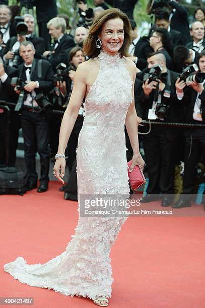 "Actress Carole Bouquet attends the Opening Ceremony and the ""Grace of Monaco"" premiere during the 67th Annual Cannes Film Festival on May 14, 2014 in..."