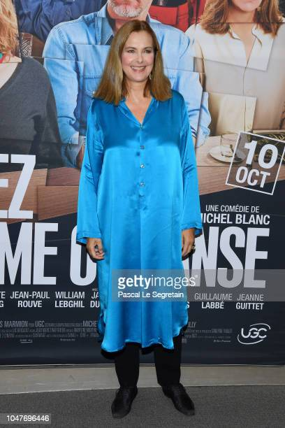 Actress Carole Bouquet attends Voyez Comme On Danse Premiere at Cinema UGC Normandie on October 8 2018 in Paris France