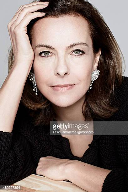 Actress Carole Bouquet is photographed for Madame Figaro on December 22 2014 in Paris France Pullover earrings COVER IMAGE CREDIT MUST READ Felix...