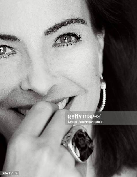 110095021 Actress Carole Bouquet is photographed for Madame Figaro on July 24 2014 in Paris France PUBLISHED IMAGE CREDIT MUST READ Matias...
