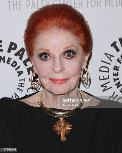 Actress Carole Cook attends the premiere screening of Carol Channing Larger Than Life at The Paley Center for Media on January 18 2012 in Beverly...